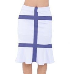 Patriarchal Cross Mermaid Skirt