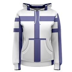 Patriarchal Cross  Women s Pullover Hoodie
