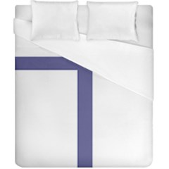 Patriarchal Cross  Duvet Cover (california King Size)