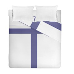 Patriarchal Cross  Duvet Cover Double Side (Full/ Double Size)