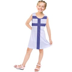 Patriarchal Cross  Kids  Tunic Dress