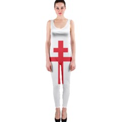 Flag Of Free France (1940 1944) Onepiece Catsuit