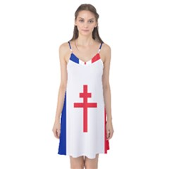 Flag Of Free France (1940 1944) Camis Nightgown