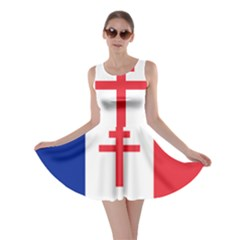 Flag Of Free France (1940 1944) Skater Dress