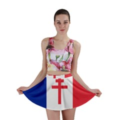 Flag Of Free France (1940 1944) Mini Skirt