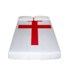 Flag Of Free France (1940 1944) Fitted Sheet (full/ Double Size)
