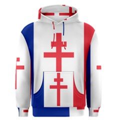 Flag Of Free France (1940 1944) Men s Pullover Hoodie