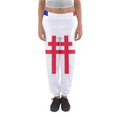 Flag Of Free France (1940 1944) Women s Jogger Sweatpants