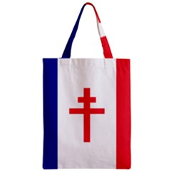 Flag Of Free France (1940 1944) Zipper Classic Tote Bag