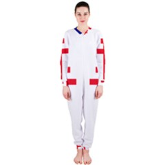Flag Of Free France (1940 1944) Onepiece Jumpsuit (ladies)