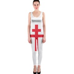 Flag of Free France (1940-1944) OnePiece Catsuit