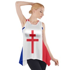 Flag of Free France (1940-1944) Side Drop Tank Tunic