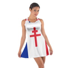 Flag of Free France (1940-1944) Cotton Racerback Dress