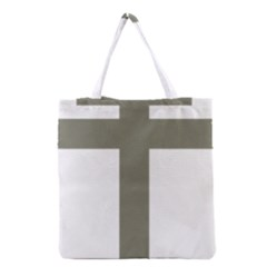 Cross of Loraine Grocery Tote Bag