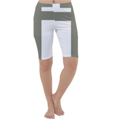 Cross Of Loraine Cropped Leggings