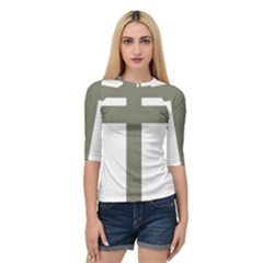 Cross Of Loraine Quarter Sleeve Tee