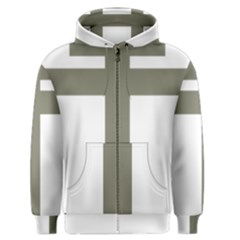 Cross Of Loraine Men s Zipper Hoodie