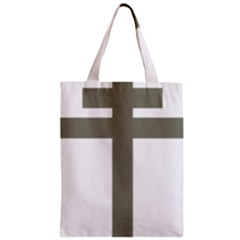 Cross Of Loraine Zipper Classic Tote Bag