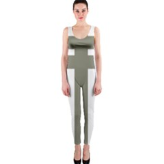 Cross Of Loraine Onepiece Catsuit