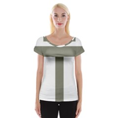 Cross of Loraine Women s Cap Sleeve Top