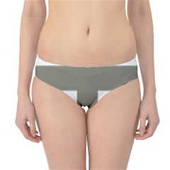 Cross Of Loraine Hipster Bikini Bottoms