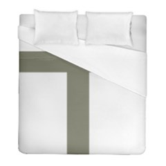 Cross Of Loraine Duvet Cover (full/ Double Size)