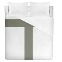 Cross Of Loraine Duvet Cover (queen Size)