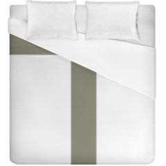 Cross Of Loraine Duvet Cover (king Size)