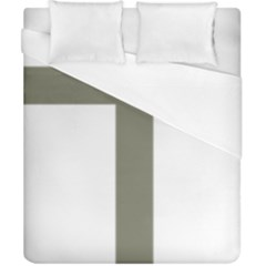 Cross Of Loraine Duvet Cover (california King Size)