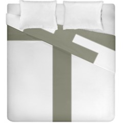 Cross Of Loraine Duvet Cover Double Side (king Size)