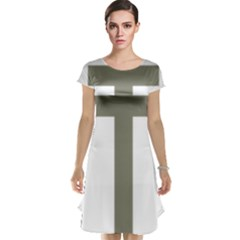 Cross Of Loraine Cap Sleeve Nightdress