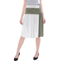 Cross Of Loraine Midi Beach Skirt