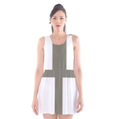 Cross Of Loraine Scoop Neck Skater Dress