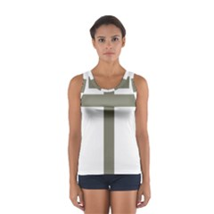 Cross Of Loraine Women s Sport Tank Top
