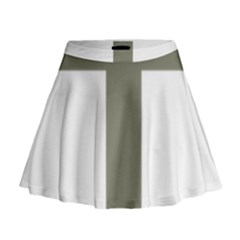Cross Of Loraine Mini Flare Skirt