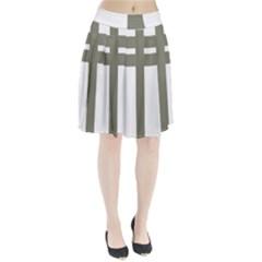Cross of Loraine Pleated Skirt