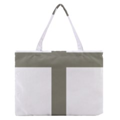 Cross Of Loraine Medium Zipper Tote Bag