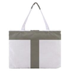 Cross of Loraine Medium Zipper Tote Bag