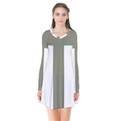 Cross Of Loraine Flare Dress
