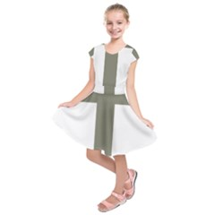 Cross Of Loraine Kids  Short Sleeve Dress