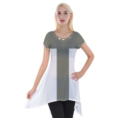 Cross Of Loraine Short Sleeve Side Drop Tunic
