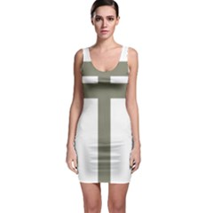 Cross Of Lorraine  Sleeveless Bodycon Dress