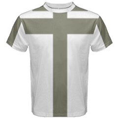 Cross Of Lorraine  Men s Cotton Tee