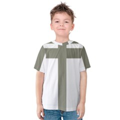 Cross Of Lorraine  Kids  Cotton Tee