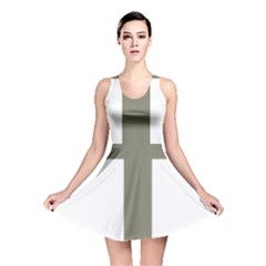 Cross Of Lorraine  Reversible Skater Dress