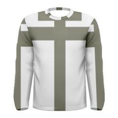 Cross of Lorraine  Men s Long Sleeve Tee