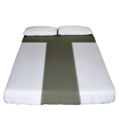 Cross Of Lorraine  Fitted Sheet (king Size)