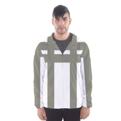Cross of Lorraine  Hooded Wind Breaker (Men)