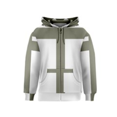 Cross Of Lorraine  Kids  Zipper Hoodie