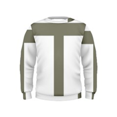 Cross Of Lorraine  Kids  Sweatshirt